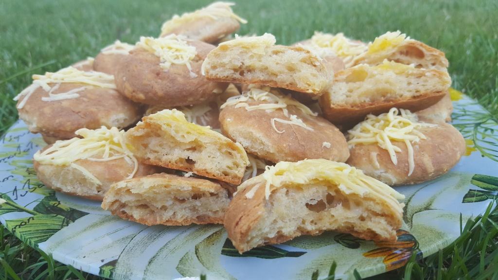 Puha AniFitt sajtos pogácsa