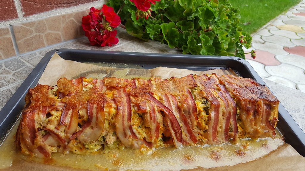 bacon-csirkemell