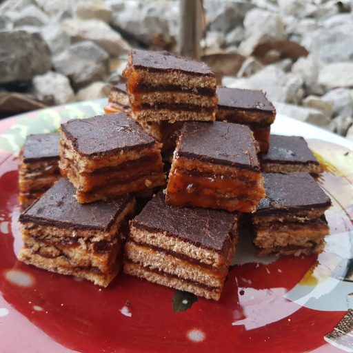 zombori-mézes-csokikrémmel